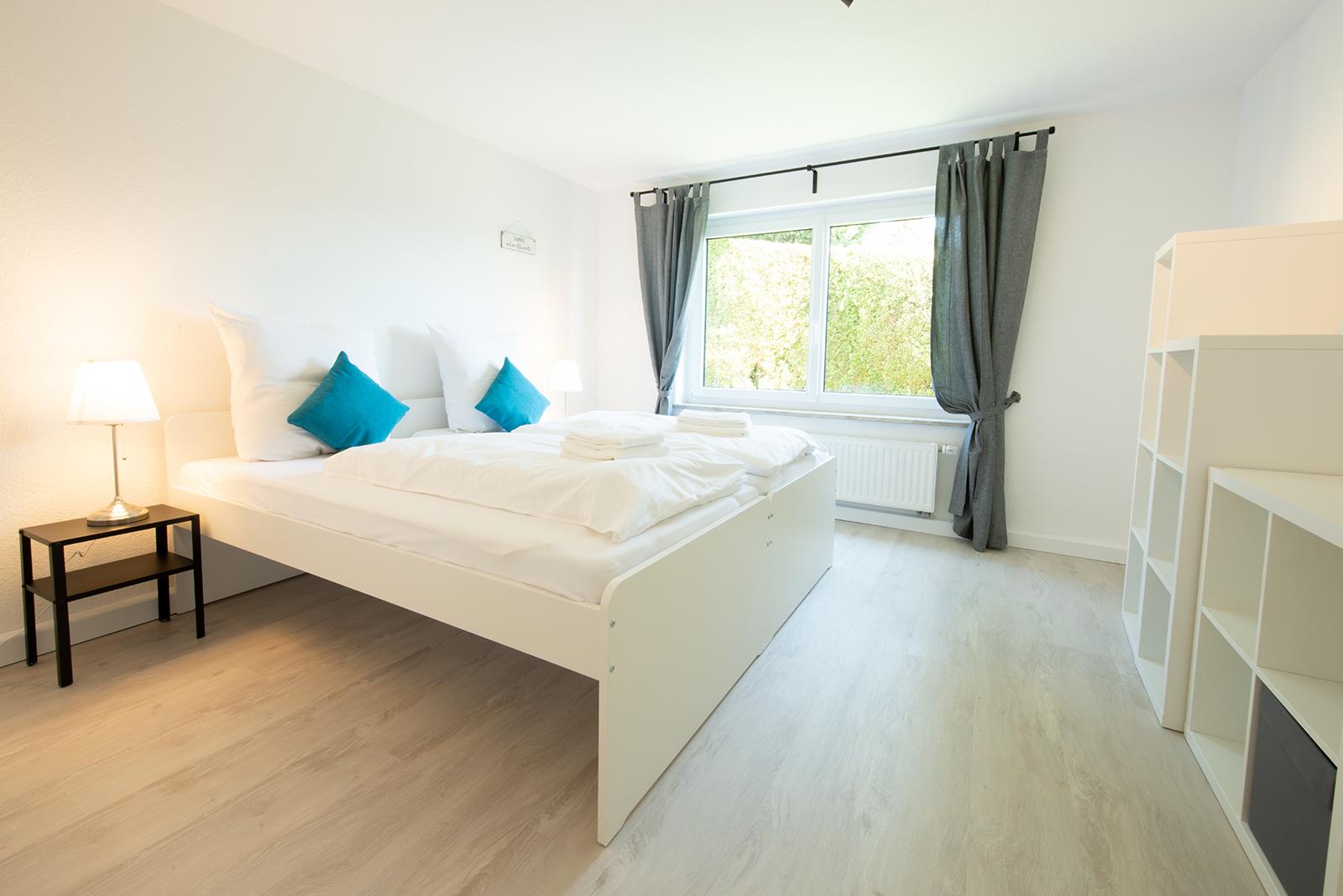 Ferienwohnung am Bodensee: Meersburg - Schlafzimmer 2