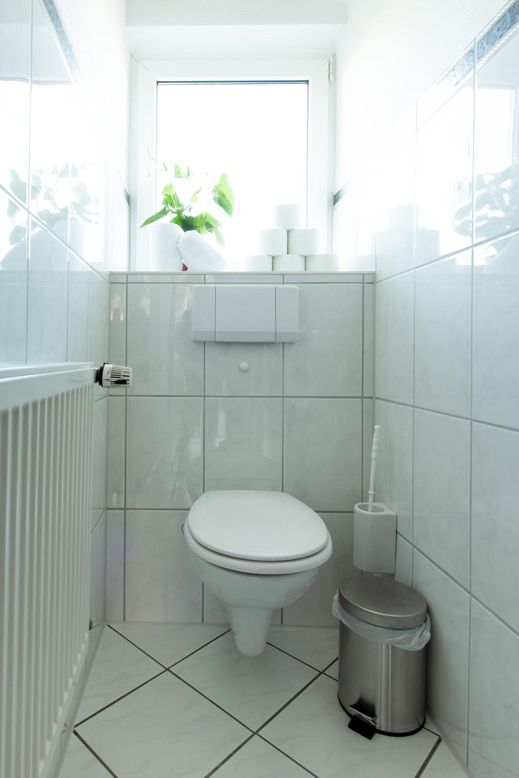 Ferienwohnung am Bodensee: Ittendorf - Toilette