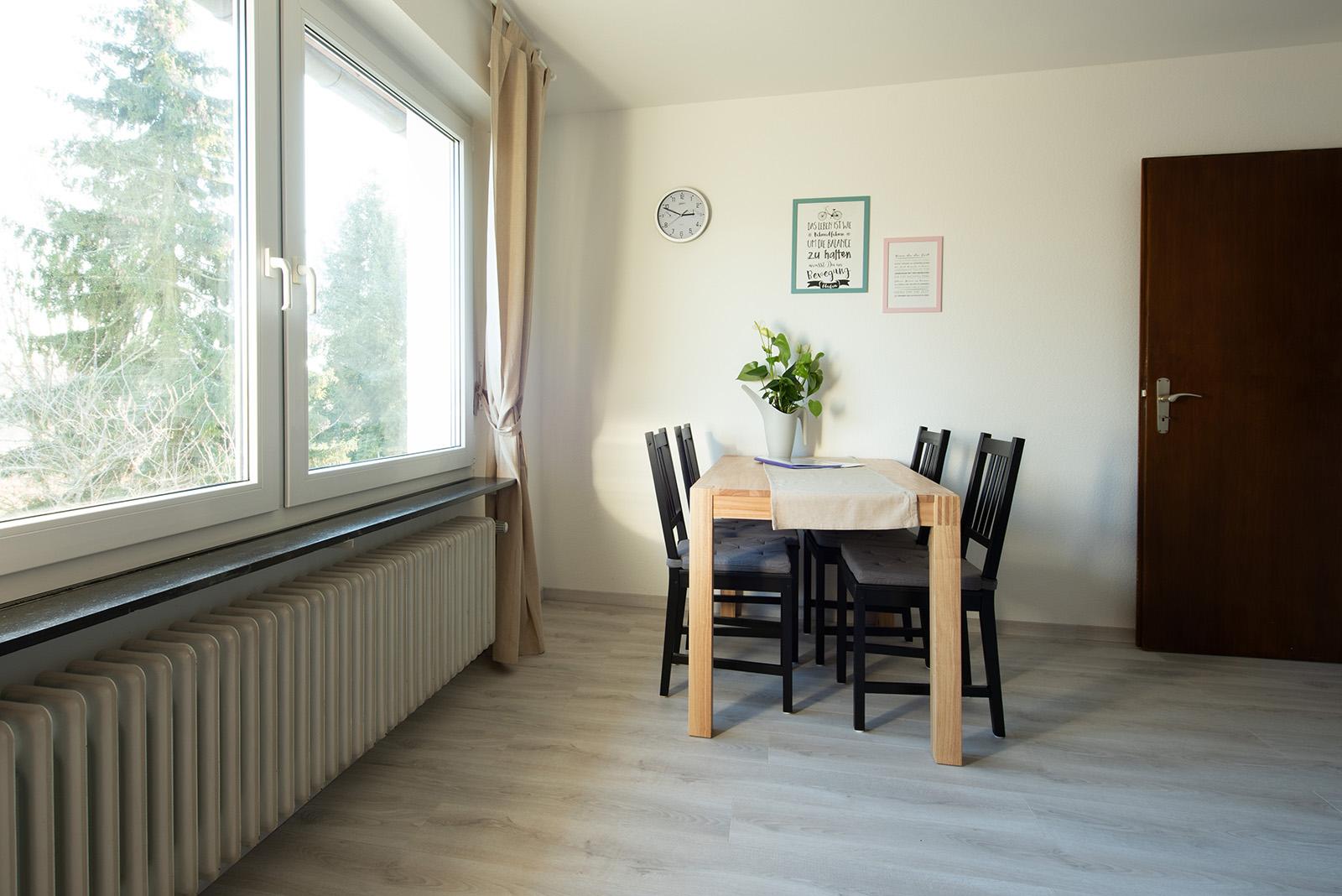 Ferienwohnung am Bodensee: Ittendorf - Essbereich