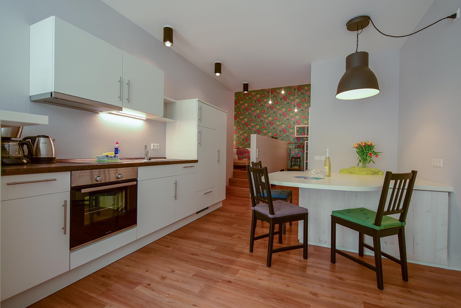 Ferienwohnung am Bodensee: City Appartement 2 - Küche