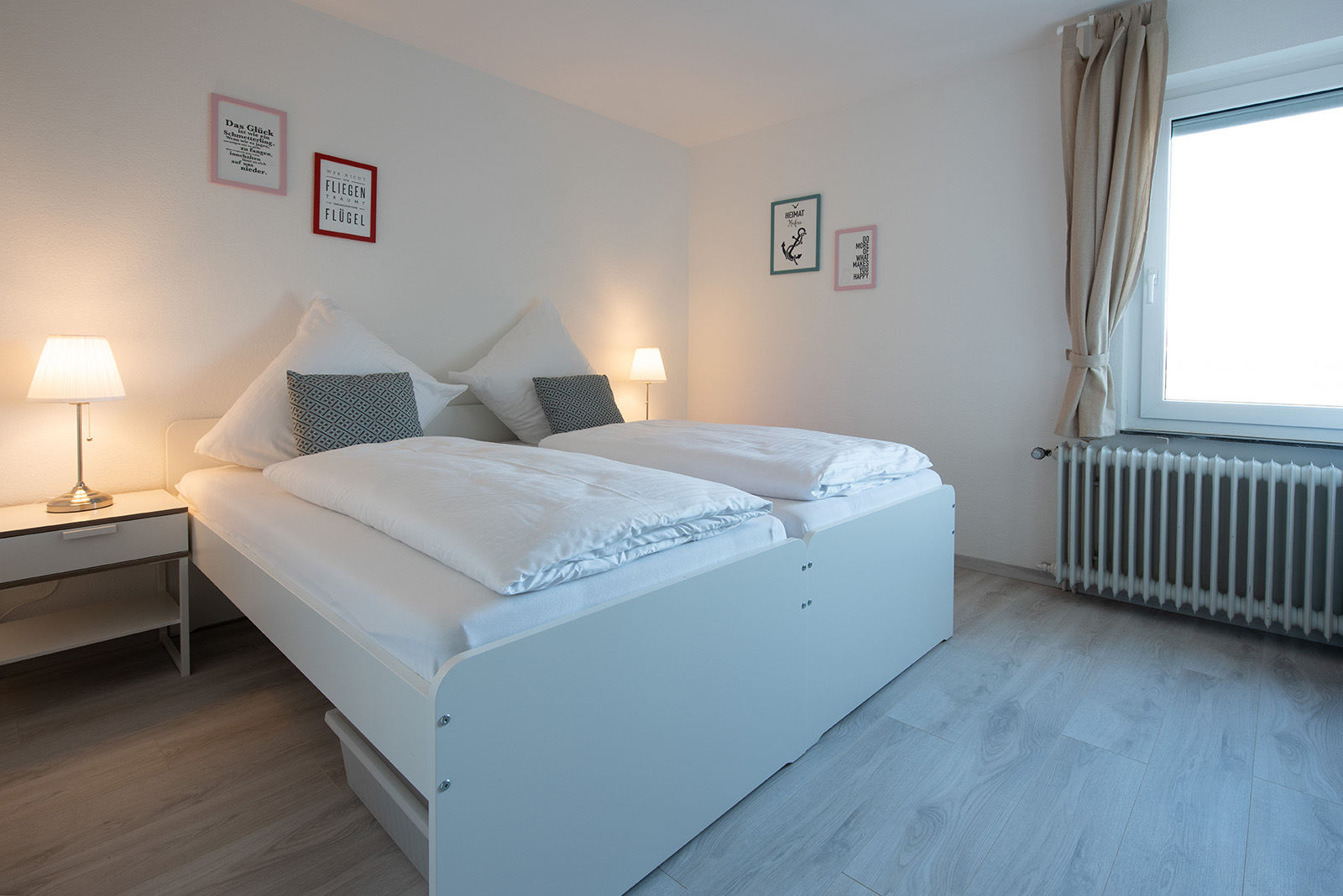 Holiday apartments on Lake Constance: Ittendorf - Bedroom