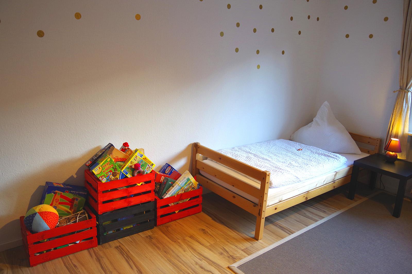 Ferienwohnung am Bodensee: Familienhafen - Kinderzimmer