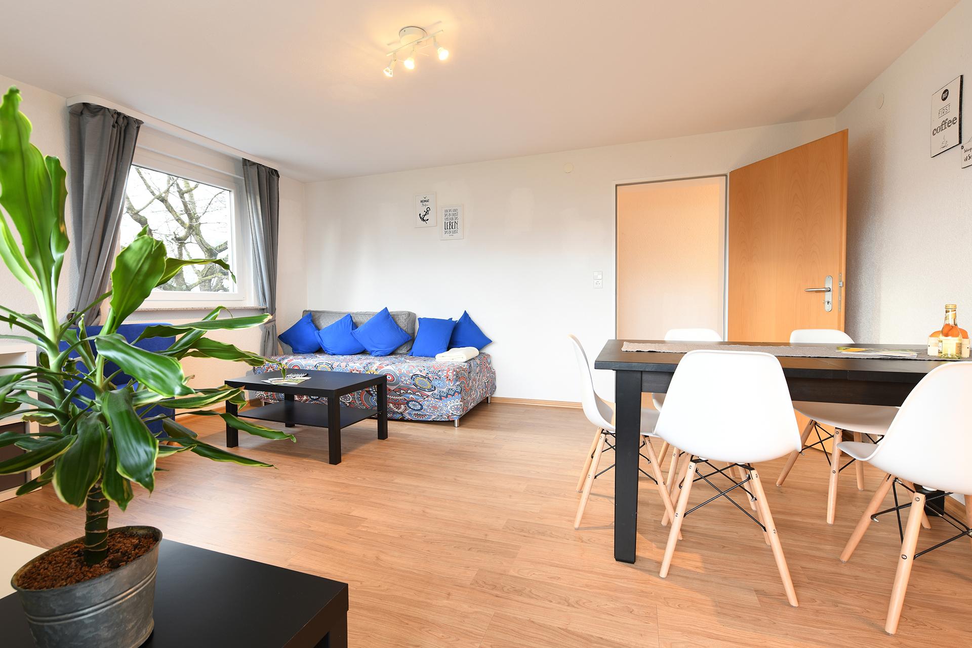 Ferienwohnung am Bodensee: Markdorf - Wohnzimmer
