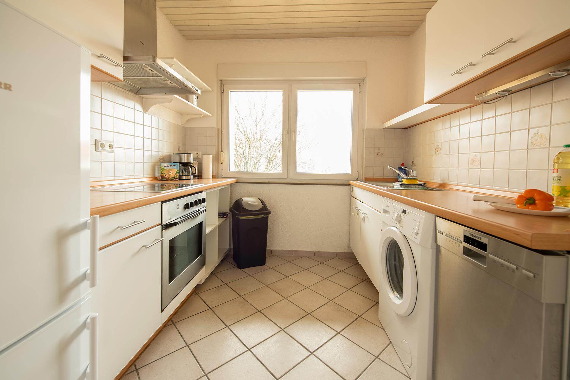 Holiday apartments on Lake Constance: Friedrichshafen - Kitchen