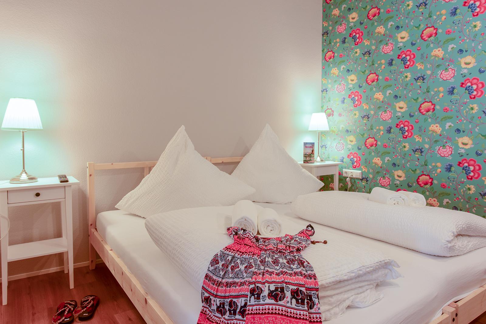 Ferienwohnung am Bodensee: City Appartement 2 - Schlafzimmer