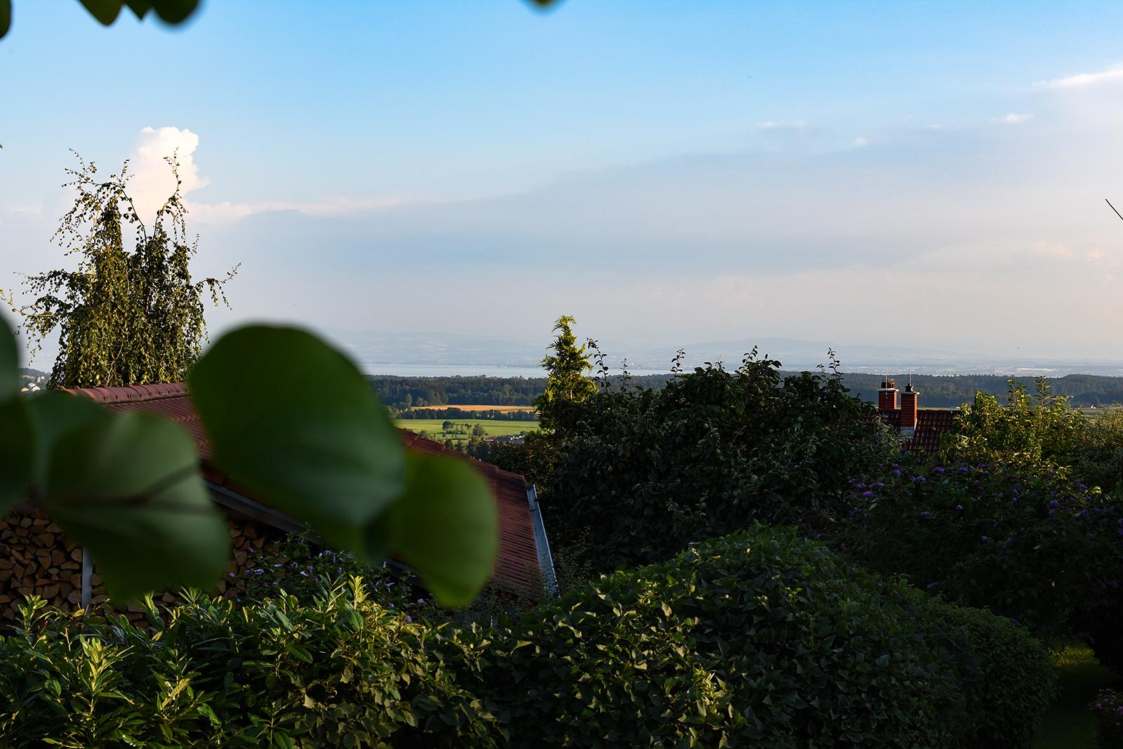 Ferienwohnung am Bodensee: Schillerstraße - Ausblick