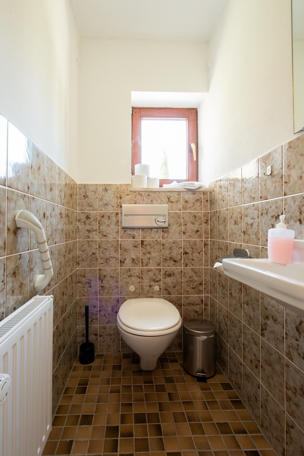 Ferienwohnung am Bodensee: Meersburg - Toilette