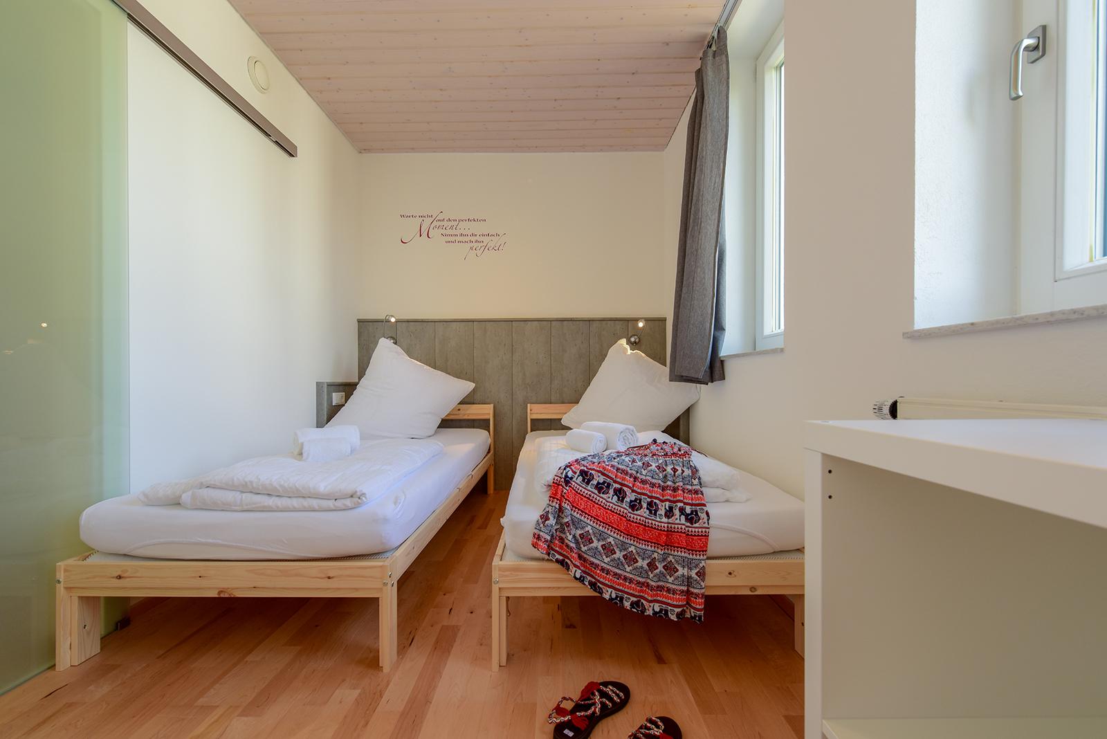 Ferienwohnung am Bodensee: Seeblüte - Schlafzimmer