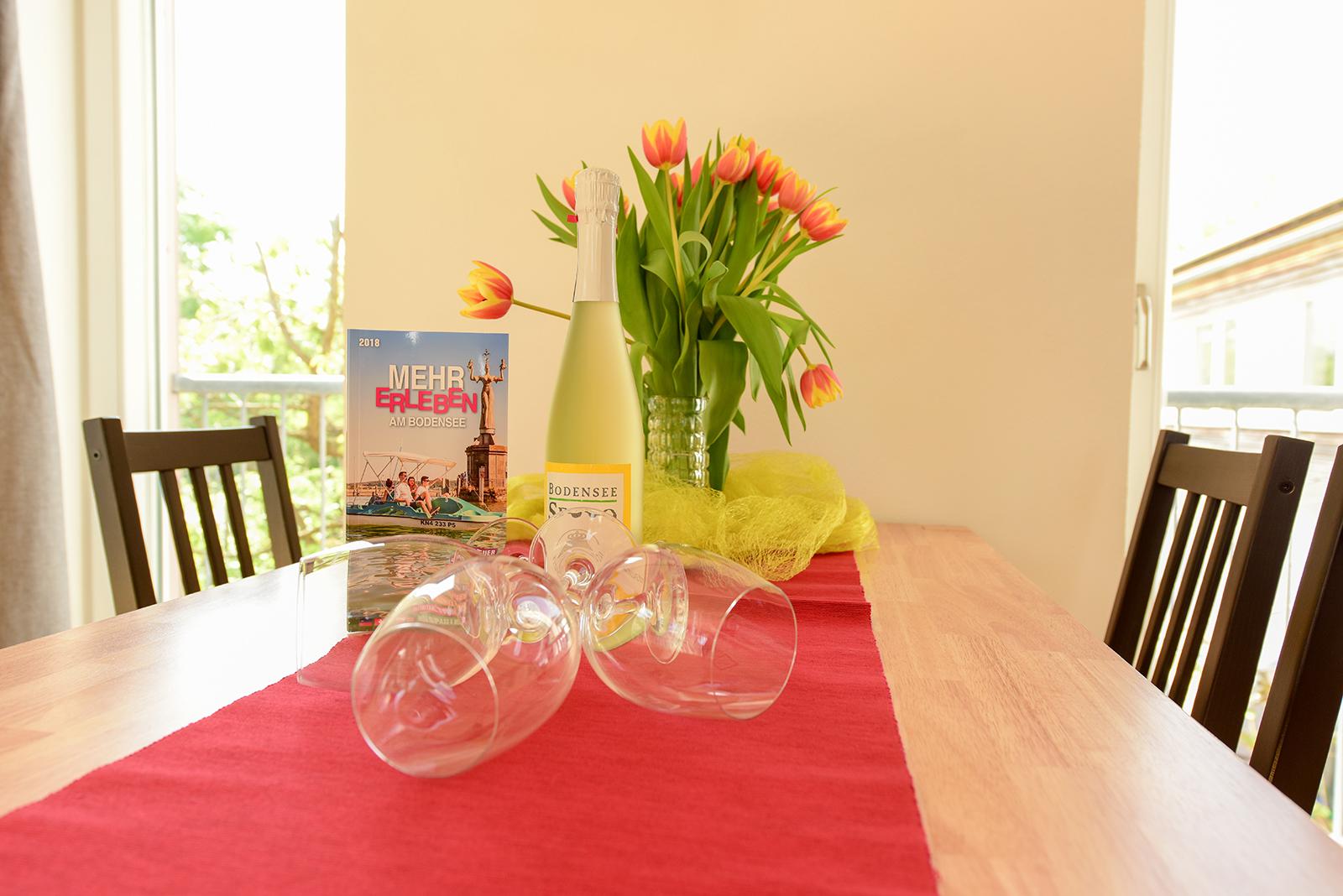 Ferienwohnung am Bodensee: Seeblüte - Deko