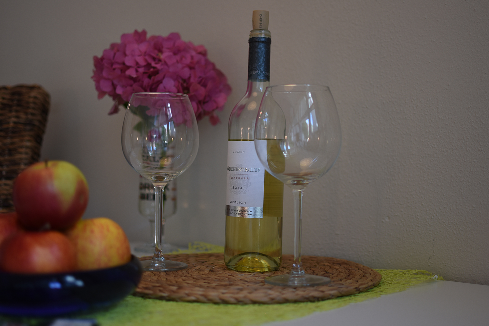 Ferienwohnung am Bodensee: City Appartement - Wein