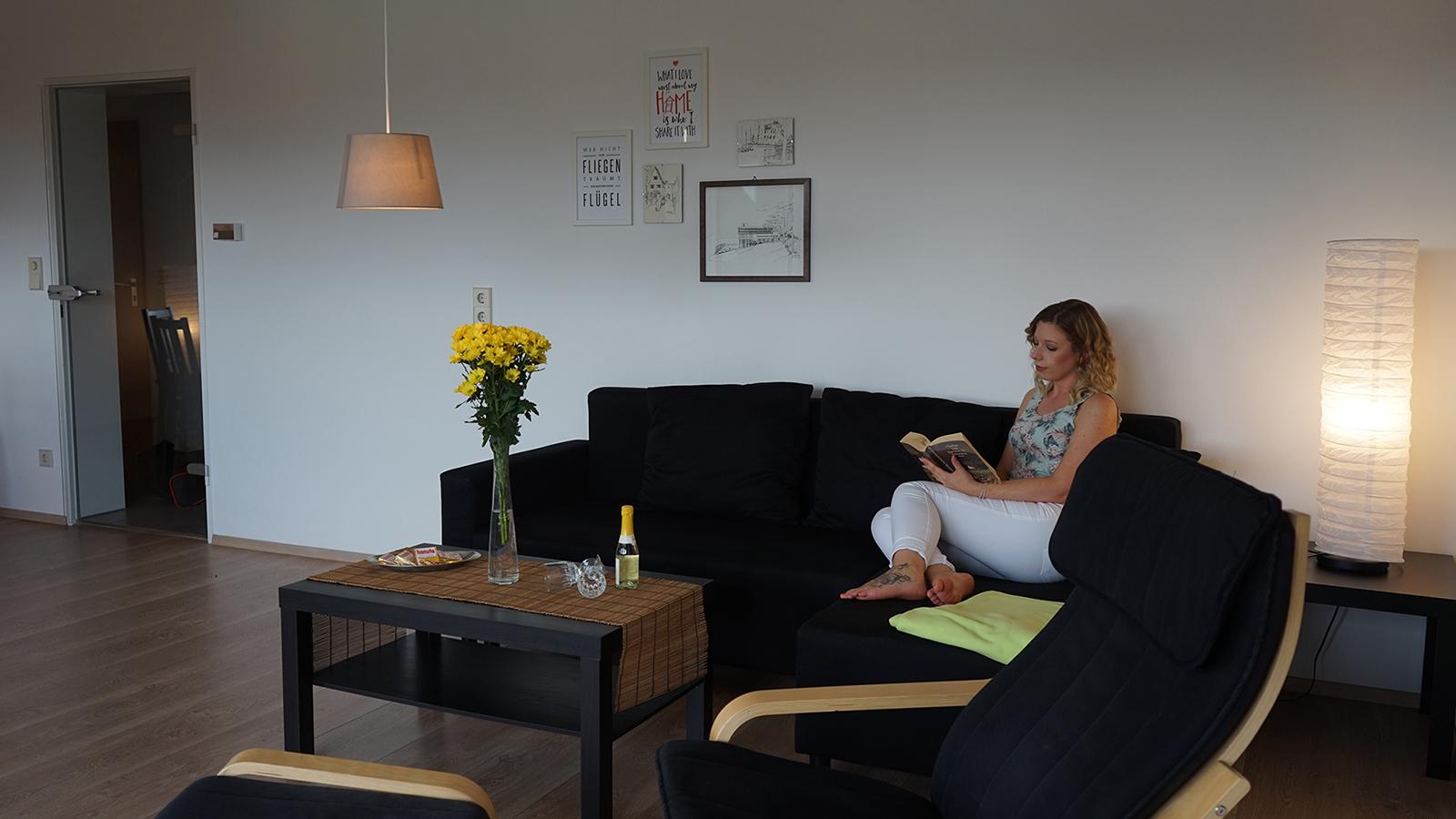 Ferienwohnung am Bodensee: Weitblick - Wohnen