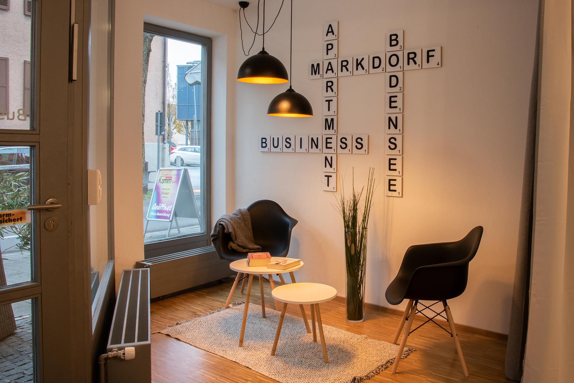 Business Apartment am Bodensee - Leseecke