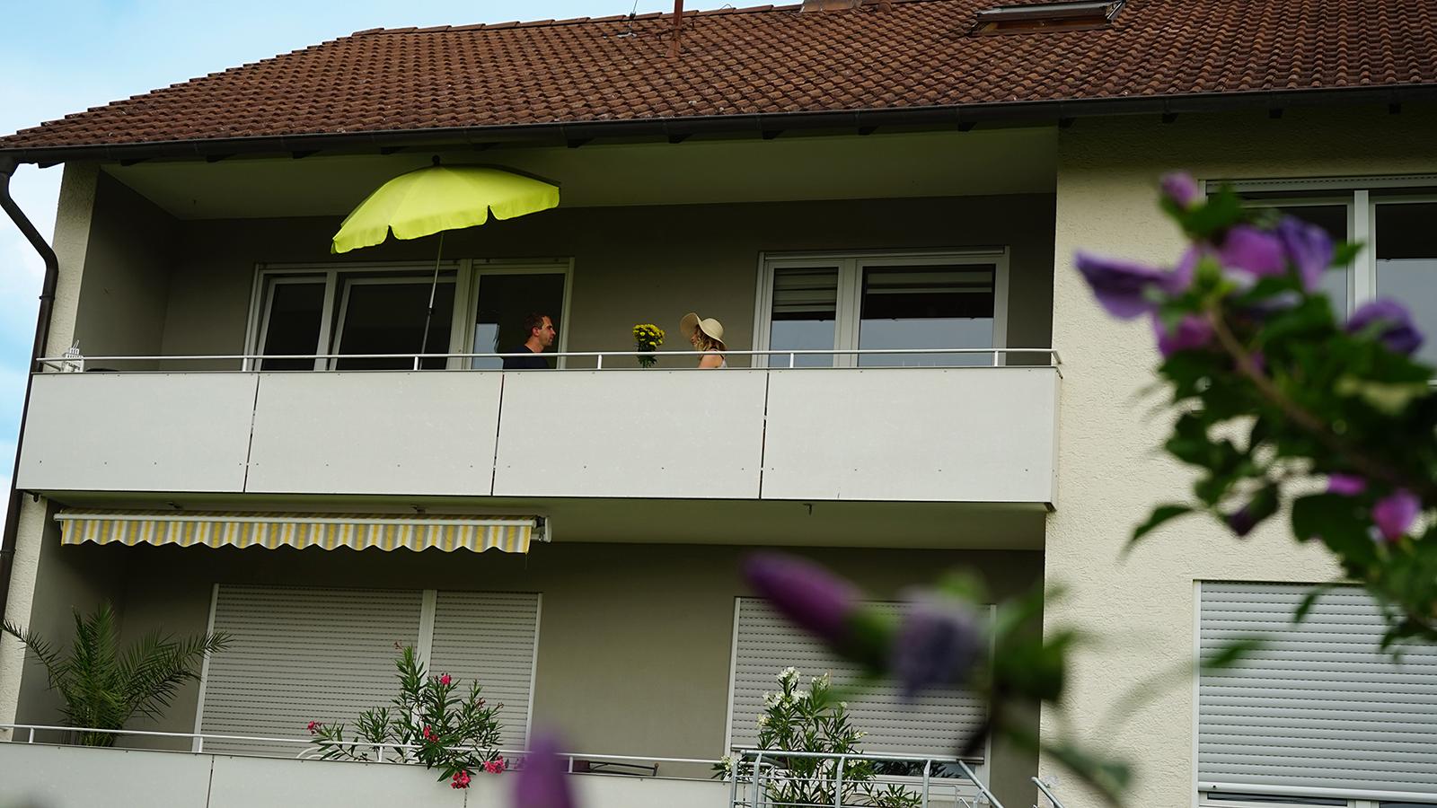 Ferienwohnung am Bodensee: Weitblick - Außenansicht