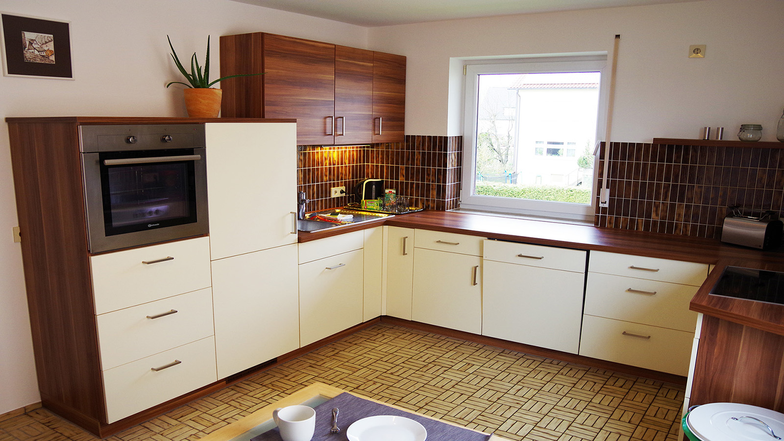 Holiday apartments on Lake Constance: Weitblick - Kitchen