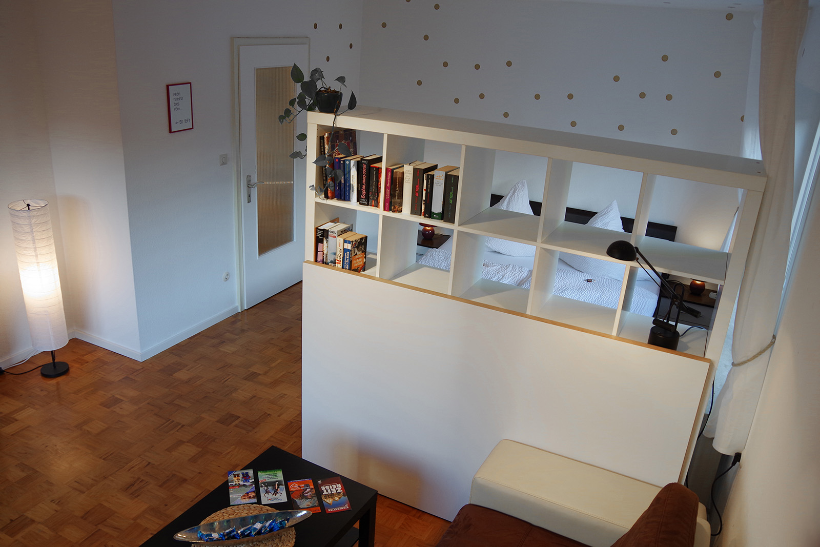 Holiday apartments on Lake Constance: Familienhafen - Living/Sleeping Area