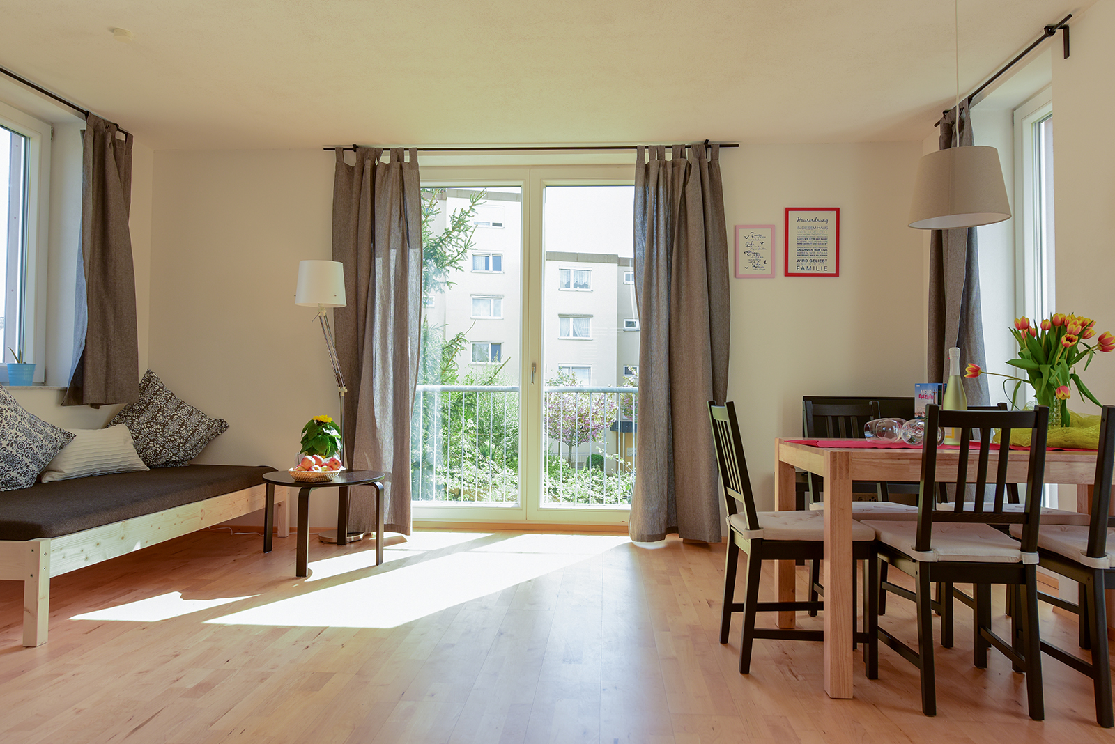 Holiday apartments on Lake Constance: Seeblüte - Living Area