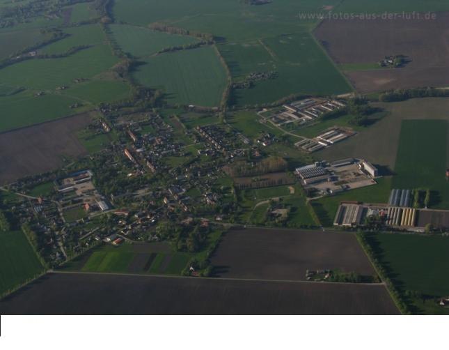 Luftaufnahme von Golzow