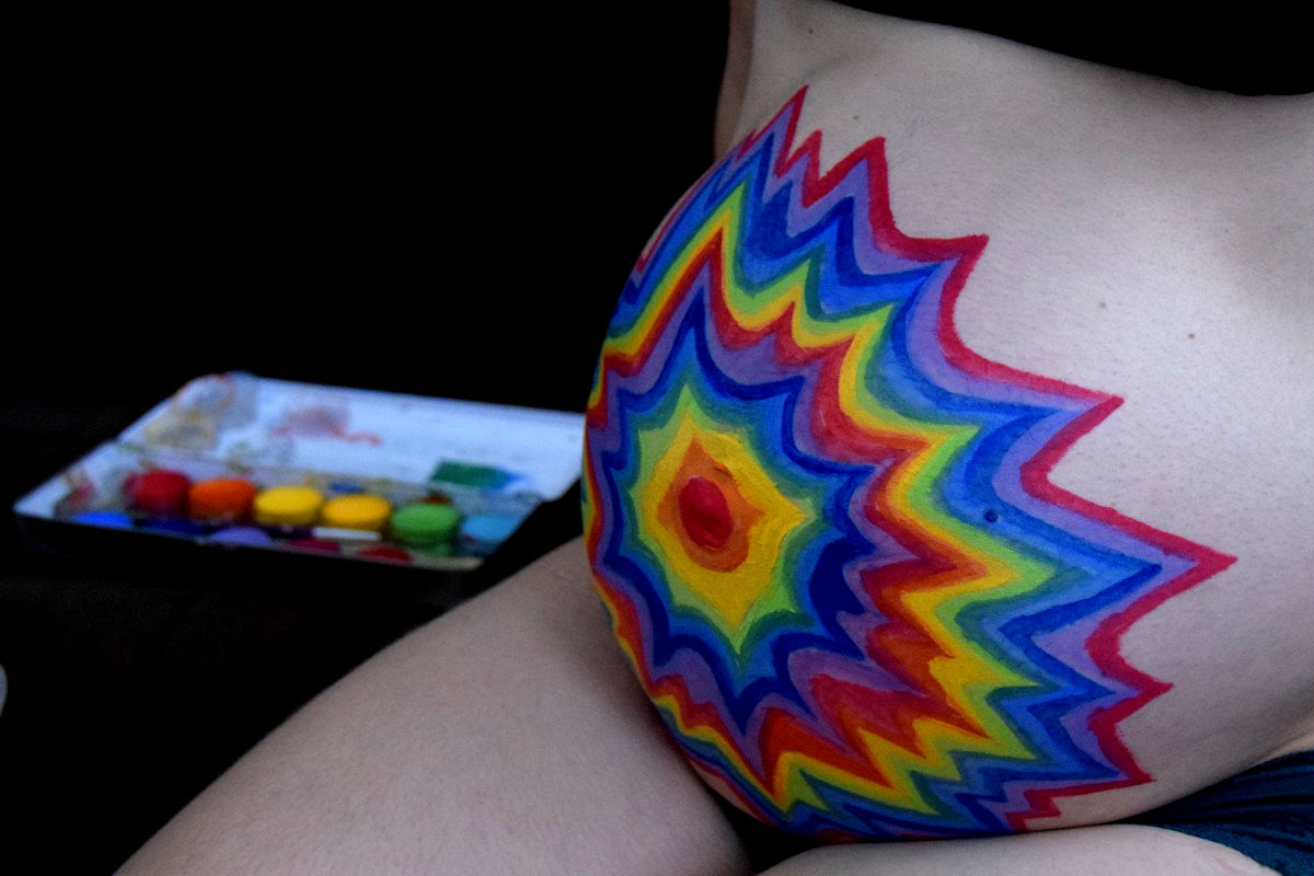 Bellypainting1 - Energie