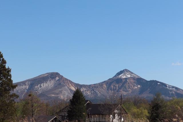 おやど風来坊から見える磐梯山