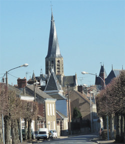 Die Kirche Notre Dame
