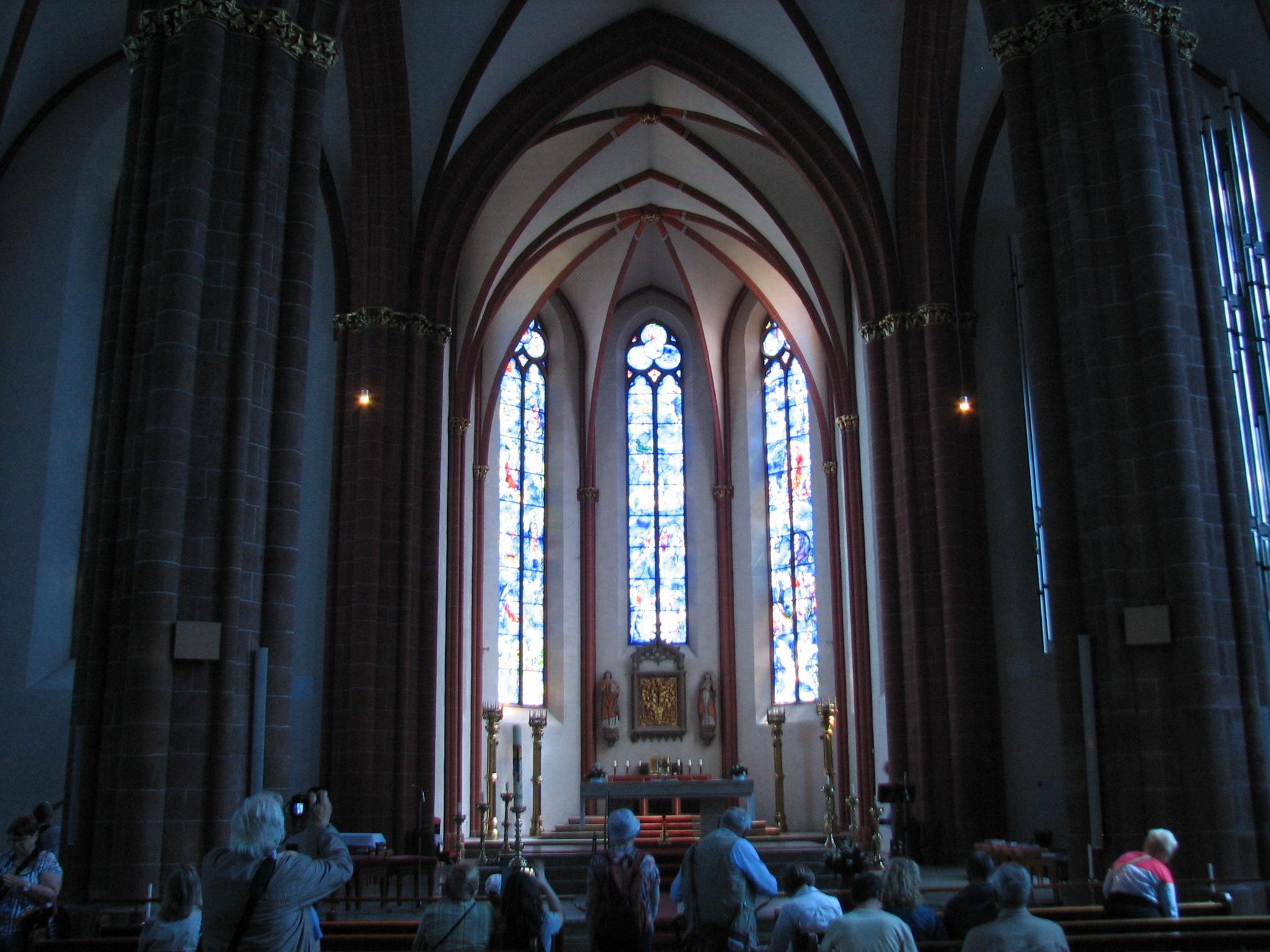 Ausflug nach Mainz, Stephanskirche, © Franz Dürsch