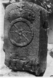 Alter Grenzstein von 1774