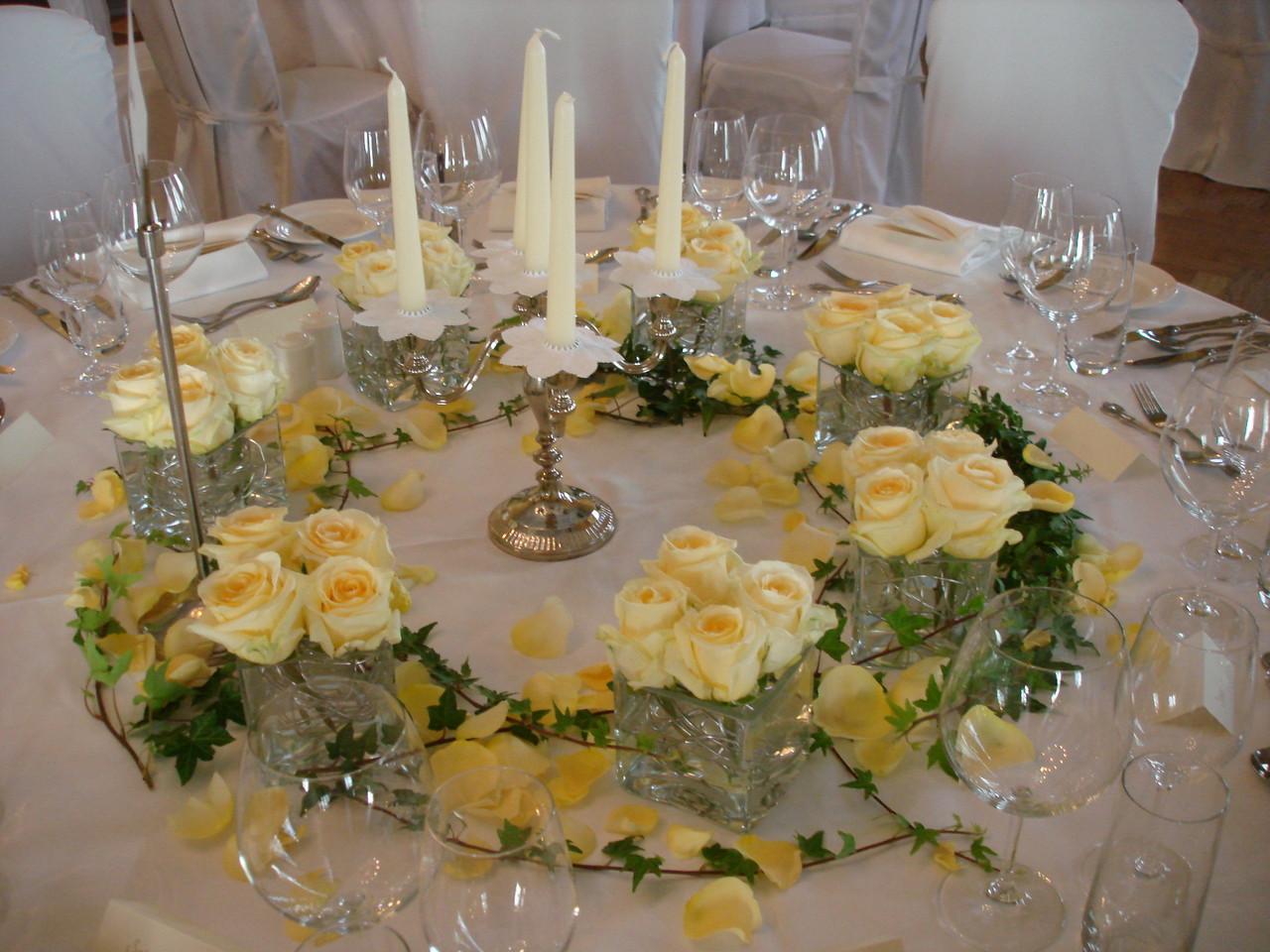 Tischdekorationen Cornelias Blueme Egge Goldbach Gmbh