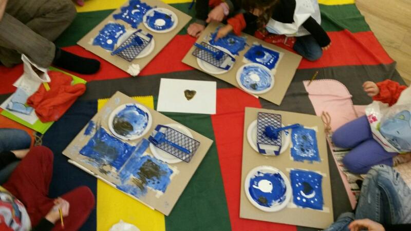 """Laboratorio creativo """"relazione creativa """" per bambini dai 3 ai 5 anni"""