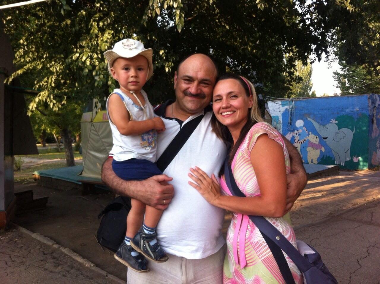 Наша семья,Наташа и сын наш Сашенька.