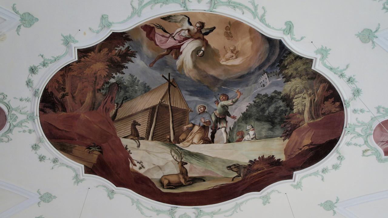 Ettenheimmünster : légende de St Landelin