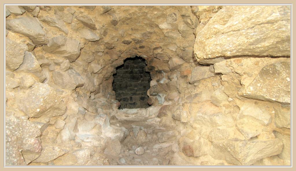 Epaisseur des murs du donjon
