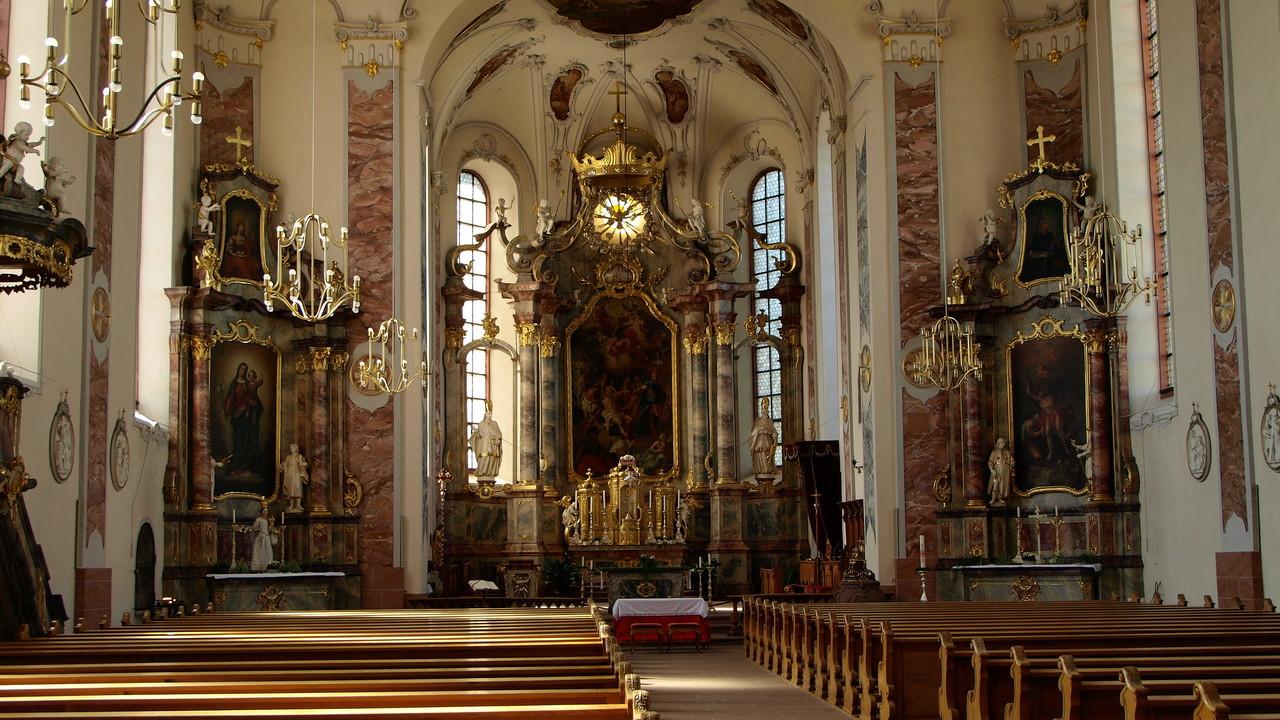Ettenheim : église St Barthélemy