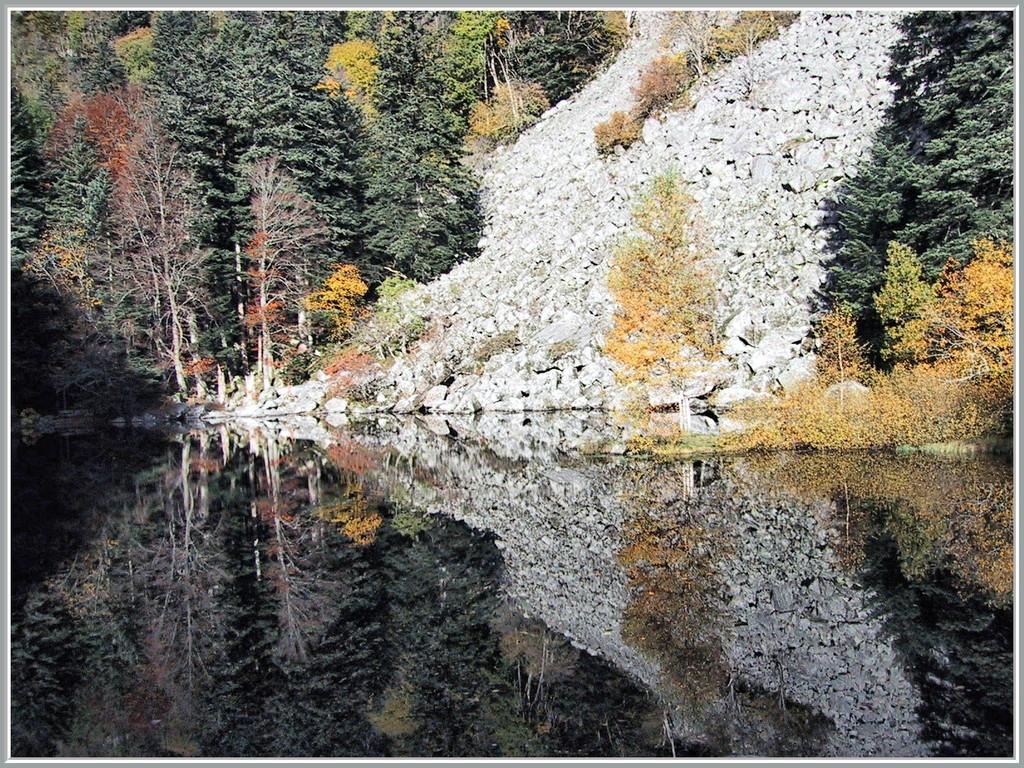 Lac du Fischboedle en automne