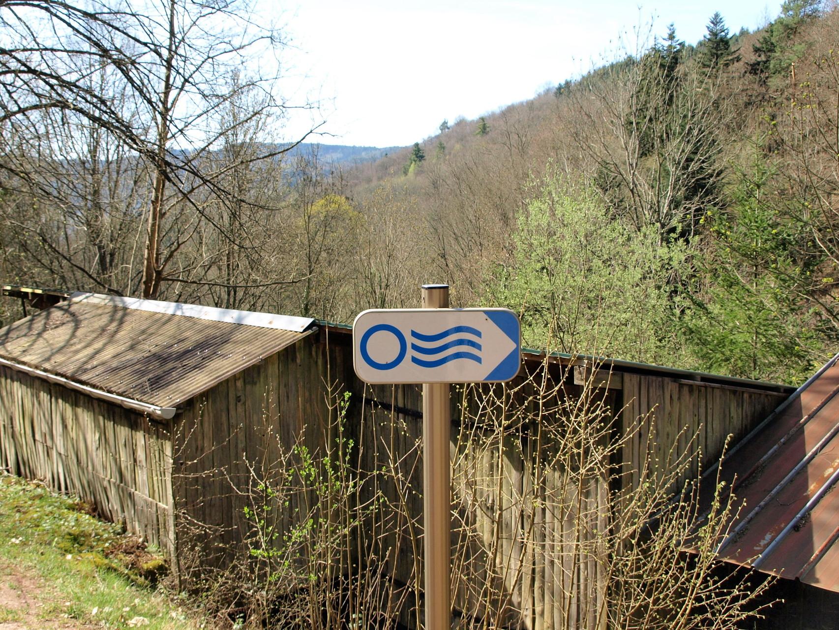 Sentier de l'Eau à Gunsbach