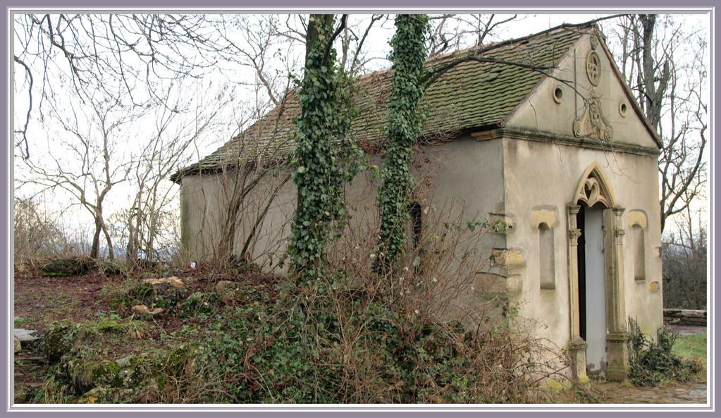 La chapelle de l'Oelberg sur le Strangenberg