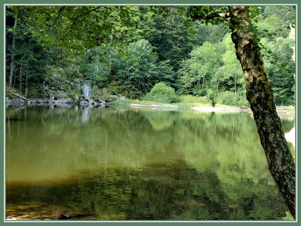Lac du Fischboedle en été