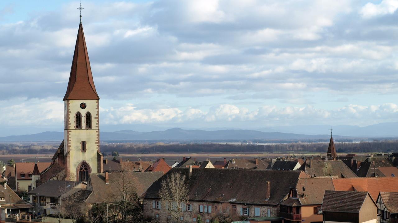 Ammerschwihr - Eglise Saint Martin - Kaiserstuhl