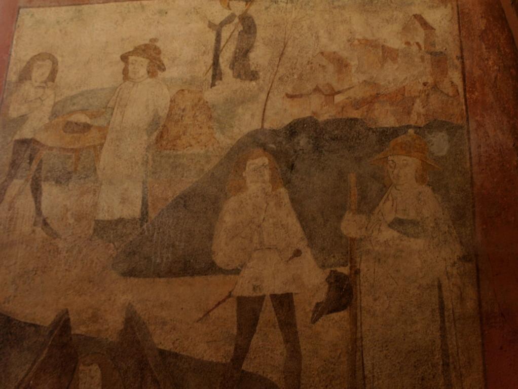 Fresques de Saint Nicolas (XVème siècle)
