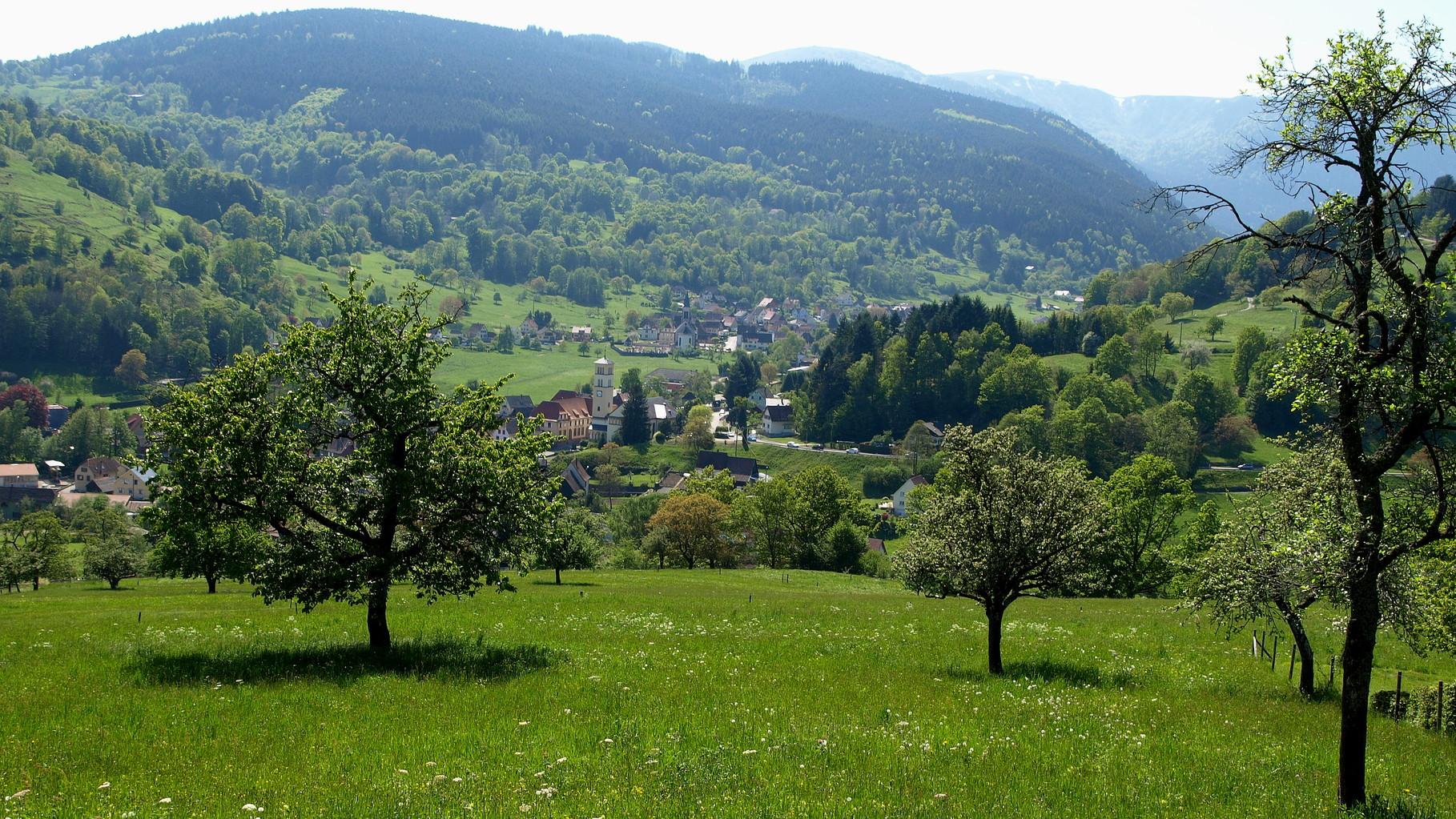 Stosswihr et le vallon d'Ampfersbach