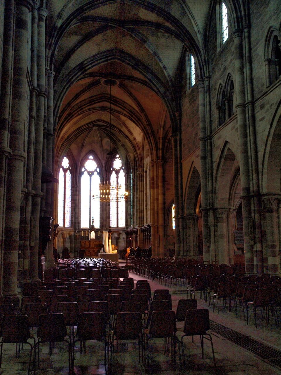 Luxeuil : abbaye Saint Colomban