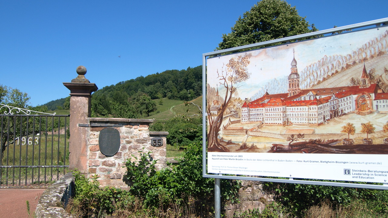 Lieu de l'ancien monastère Bénédictin