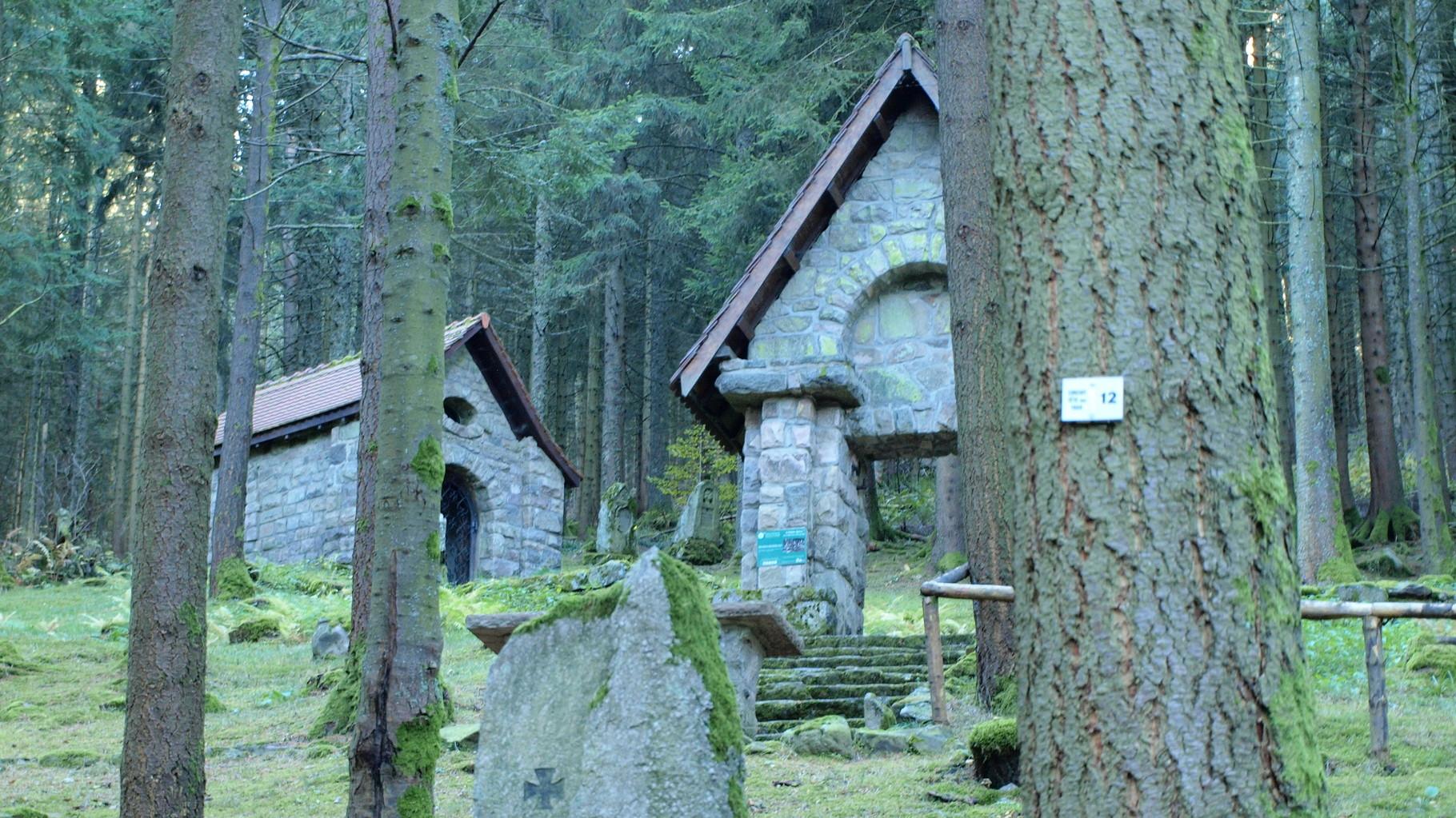 Ancien cimetière allemand et chapelle
