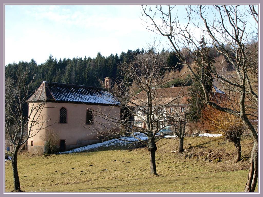 Saint Alexis : la chapelle et l'auberge