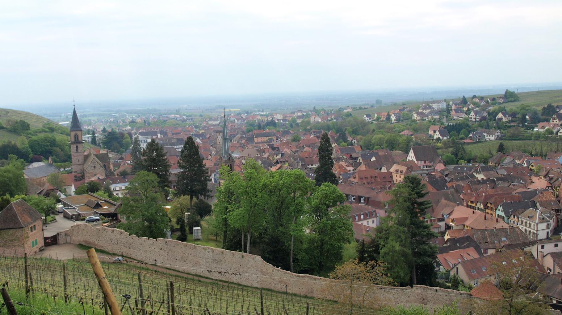Ribeauvillé - enceinte du château Ribeaupierre