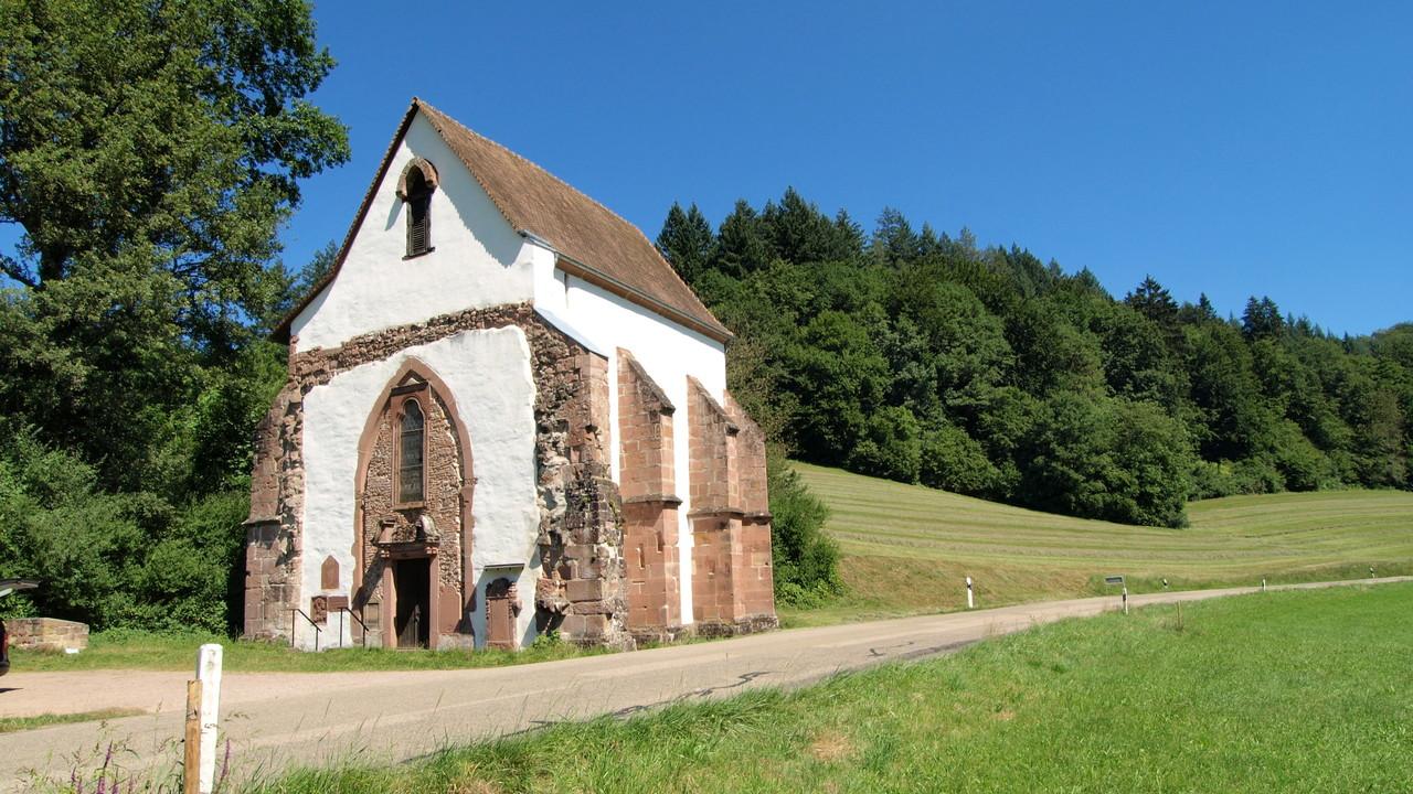 Tennenbach : chapelle de l'hospice de l'ancien monastère Cistercien
