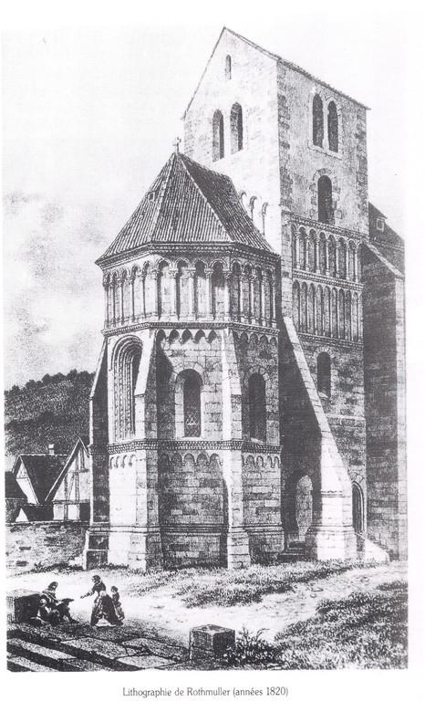 L'ancienne église du XIIIème siècle
