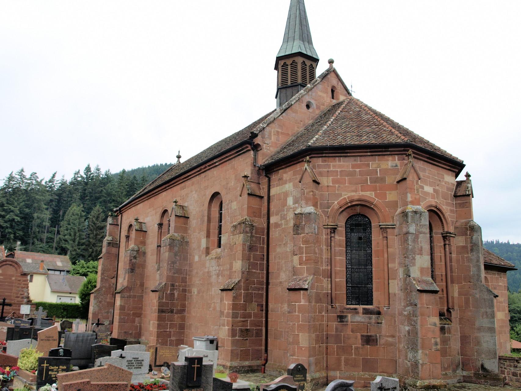 Obersteigen : chapelle de l'Assomption