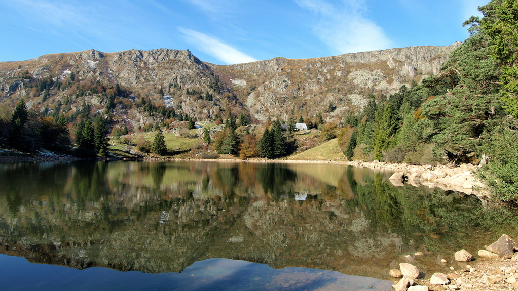 Le lac du Forlet