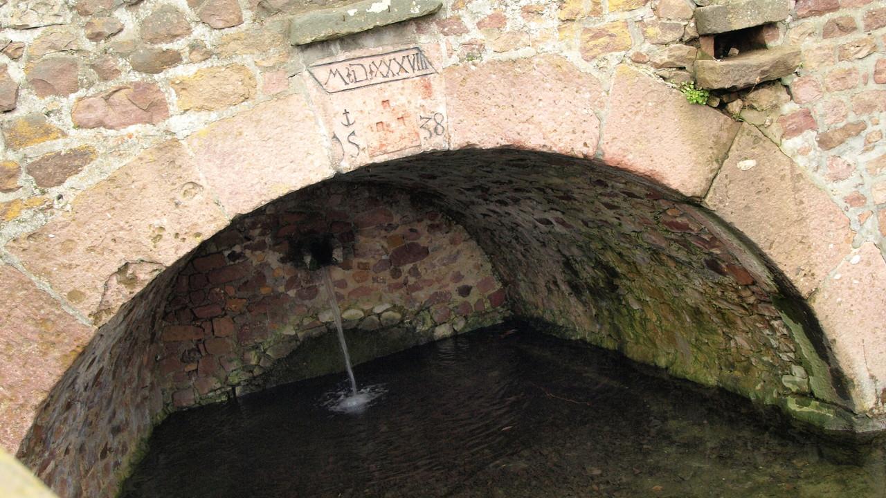 Gueberschwihr - la Source