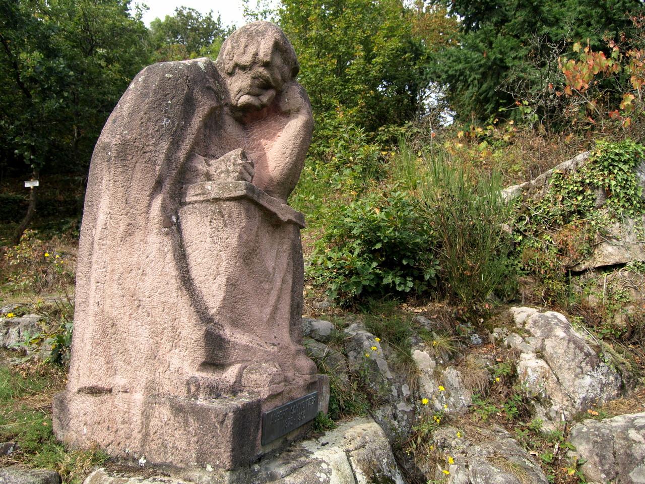 Monument Albert Schweitzer